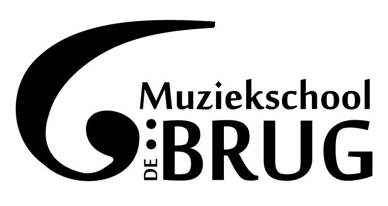 Het logo van Muziekschool De Brug
